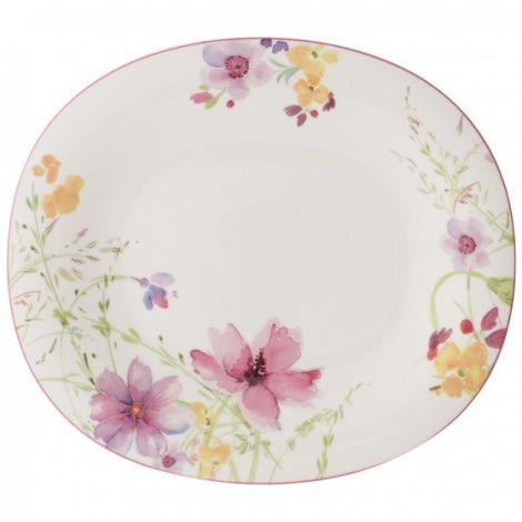 Villeroy & Boch Mariefleur Basic Oval flat plate 29x25cm