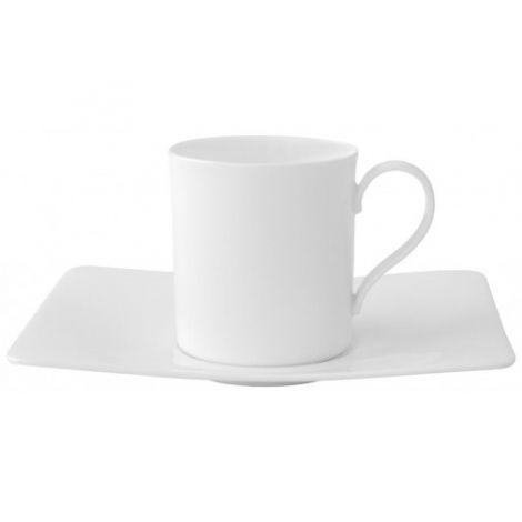 Villeroy & Boch Modern Grace Kaffekopp 0,21l + Tallerken kaffekopp 17x14cm