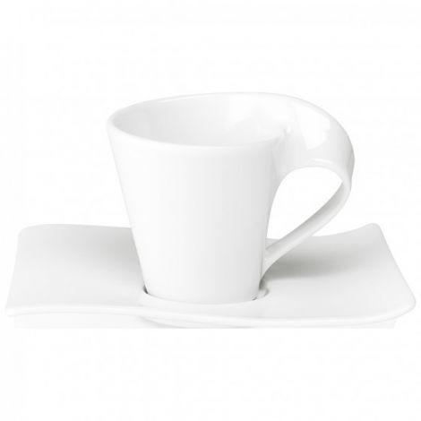 Villeroy & Boch New Wave Kaffekopp & underkop 20 cl m / skål