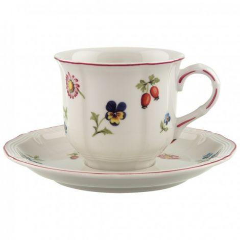 Villeroy & Boch Petite Fleur Kaffekopp 20 cl m / bolle