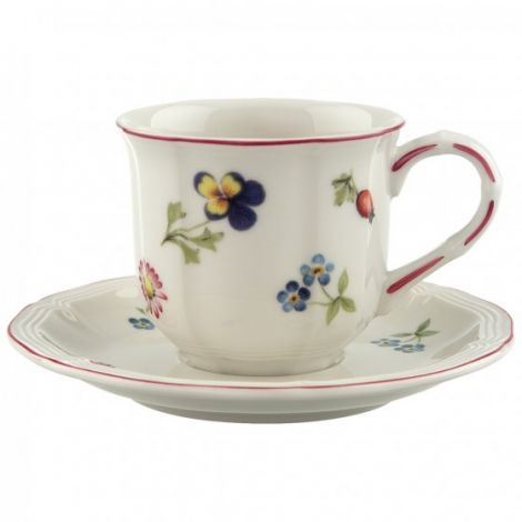 Villeroy & Boch Petite Fleur Espresso Cup 10 cl m/ skål