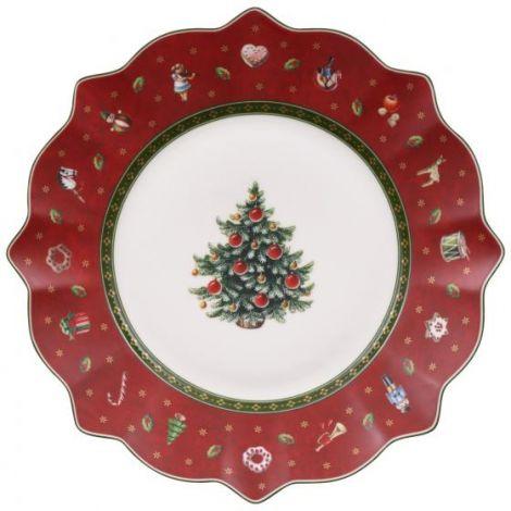 Villeroy & Boch Toy's Delight Frokosttallerken Rød 24 cm