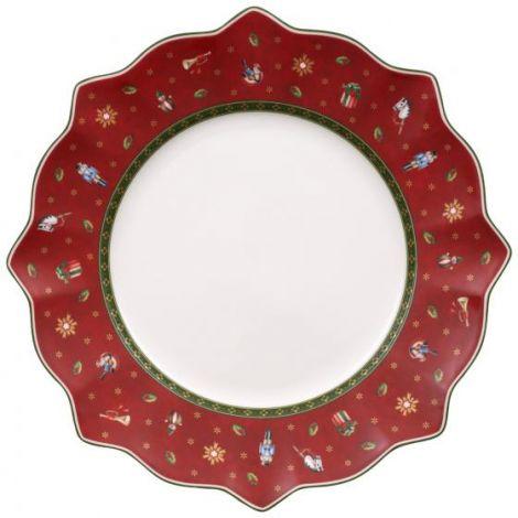 Villeroy & Boch Toy's Delight Tallerken Rød 29 cm