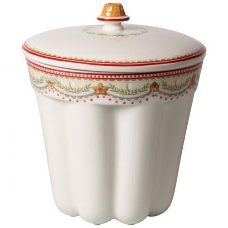 Villeroy & Boch Winter Bakery Delight jar Bundt kake pepperkaker