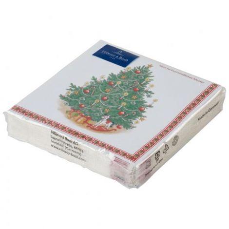 Villeroy & Boch Winter Specials Servietter Juletre 25 x 25 cm