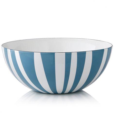 Cathrineholm Stripe Lysblå  10 cm