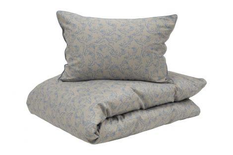 Borås Cotton Sakura Sengesett Blå flere størrelser