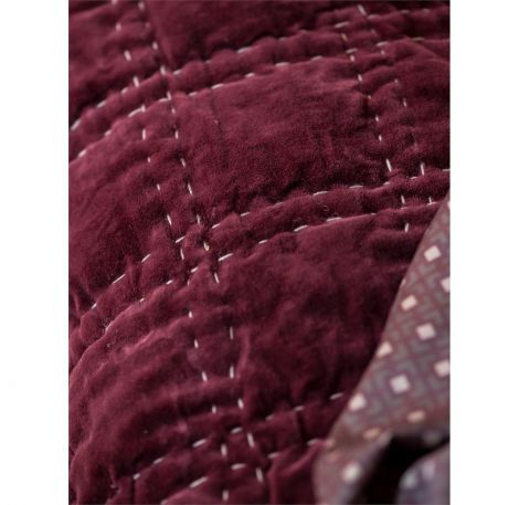 Borås Cotton Putetrekk Bordeaux Burgundy 70x100cm