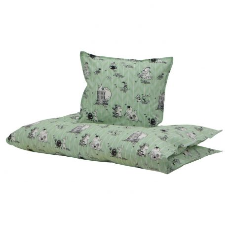 Moomin Green 80x100 / 35x40cm