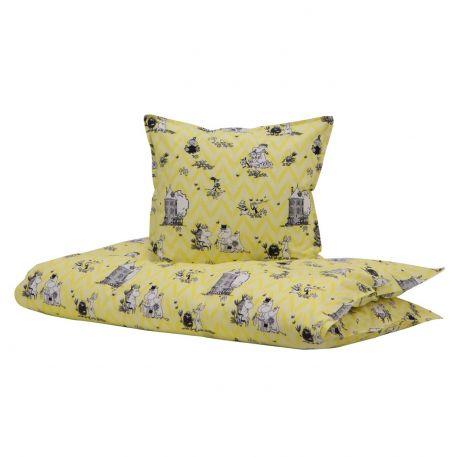 Moomin Yellow 100x140 / 40x60cm