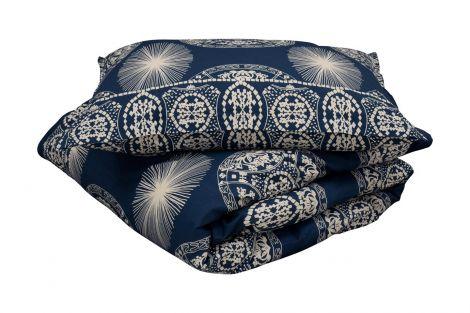Staalnacke Maya sengesett 140x220 mørk blå