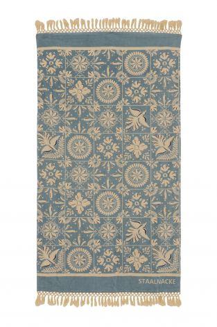 Staalnacke Mosaique håndkle 100x180 Aqua