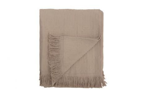 Staalnacke Tulum sengeteppe 140x260 Beige
