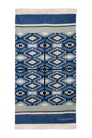 Staalnacke Tulum håndkle 100x180 Blue