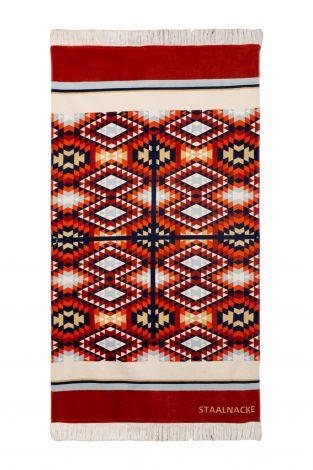 Staalnacke Tulum håndkle 100x180 Red
