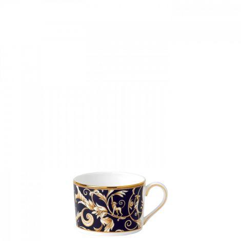 Wedgwood Cornucopia Teacup Low Imperial Blue Accent. Levering i mai.