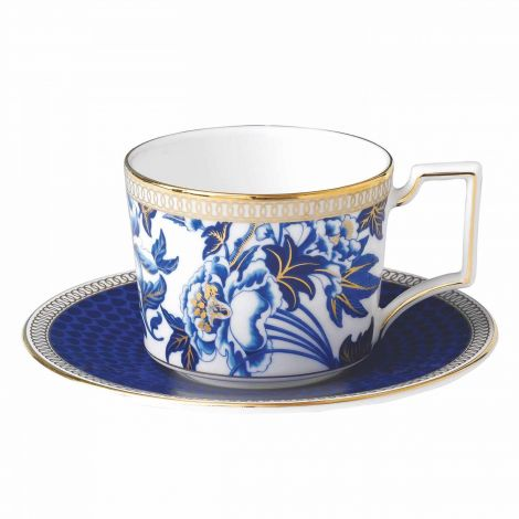 Wedgwood Hibiscus Espressocup & Saucer