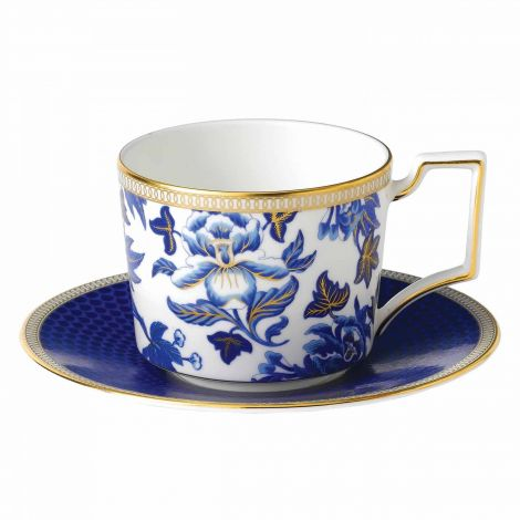Wedgwood Hibiscus Teacup & Saucer 22 cl. Levering mars -21.