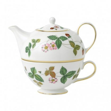 Wedgwood Wild Strawberry Tea For One