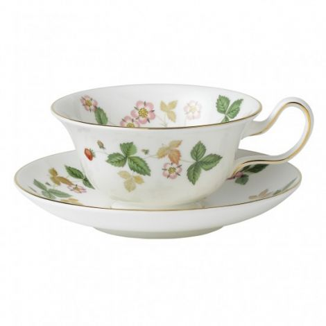 Wedgwood W Strawberry Teacup Peony