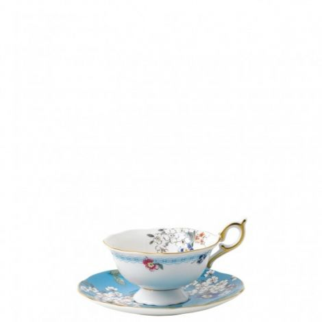 Wedgwood Wonderlust Apple Blossom Teacup & Saucer