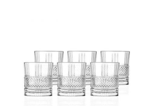 Lyngby Glass Whisky Brillante 34cl 6 stk - U
