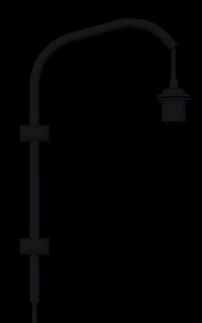 Umage Willow Mini vegghenger svart H 50 cm