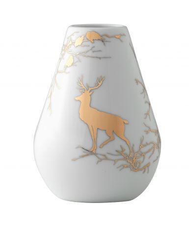 Wik & Walsøe Alvskog Gull Vase 15 cm