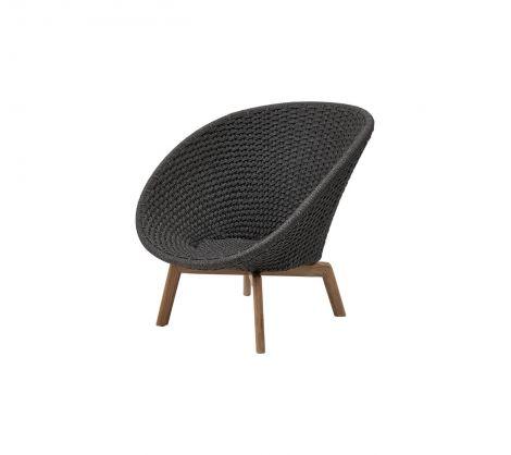 Cane-line Peacock lounge stol Flervalg. Levering juni -21.