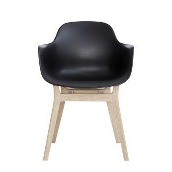 Andersen AC3 stol svart med såpe eik