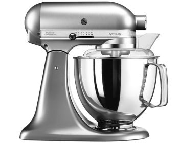 KitchenAid Artisan Kjøkkenmaskin børstet nikkel - 4,8 + 3 liter