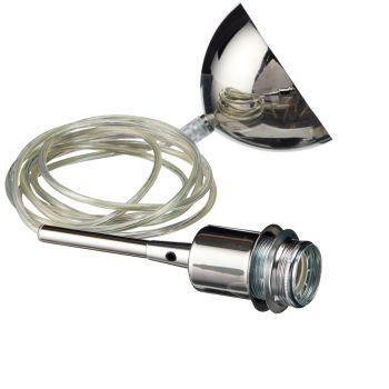 Belid Gloria Oppheng E27 Krom Gjennomsiktig Kabel