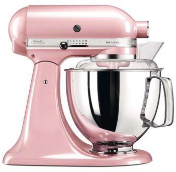KitchenAid Artisan Kjøkkenmaskin  silky pink - 4,8 + 3 liter. Levering august -21.
