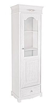 Bizzotto Blanc Skap 50x34x170 cm Kommer 06/21