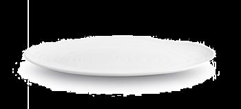 Pillivuyt Boulogne Tallerken Oval Hvit - 18 cm