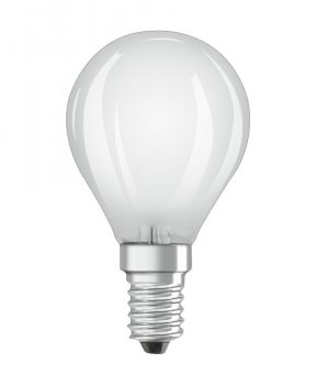 Osram Lyspære LED P40 E14, matt, DIM, Illum