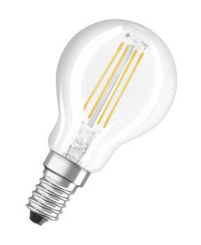 Osram Lyspære LED P40 E14, klar, DIM, Illum
