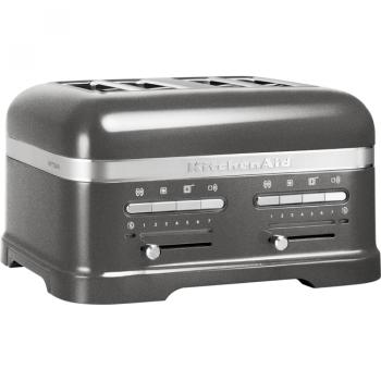 KitchenAid Artisan Toaster 4-skiver medaljong sølv