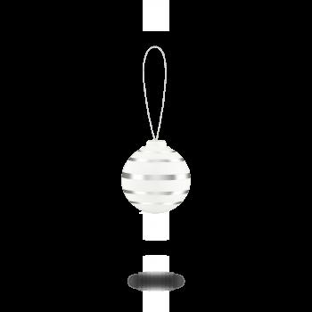 Kähler Omaggio julekule sølv