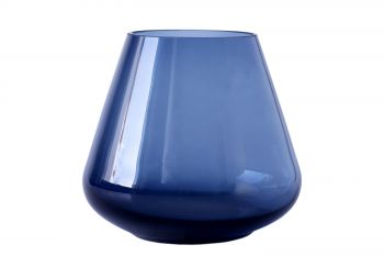 Magnor Rocks Blue telykt/vase 120mm.