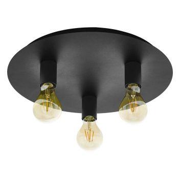 Eglo Passano 1 Taklampe Sort - 3-lys