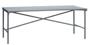 Hübsch Bord Metall Grå
