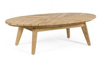 Bizzotto Coachella Sofabord Oval Teak 120x70 cm