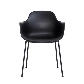 Andersen AC3 stol svart med svart metallramme