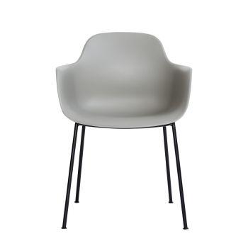 Andersen AC3 stol grå med svart metallramme