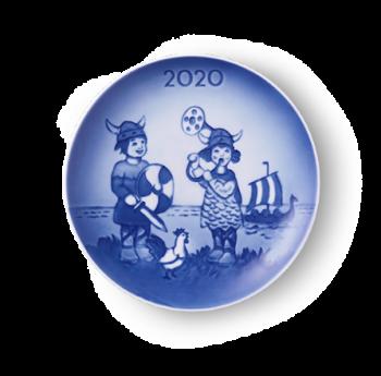 Royal Copenhagen Samlekolleksjon 2020 Barnas Dag Platte