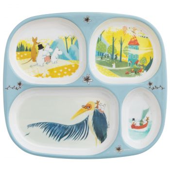 Rätt Start Mummi Board / Plate Bird (Our Sea)