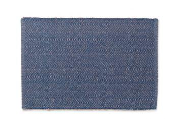 Lyngby Porselen Herringbone Spisebrikker Blå 6 stk