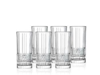 Lyngby Glass Highball Brillante 37cl 6 stk - U