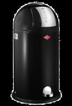 Wesco Kickboy Pedalbøtte Sort - 40 liter